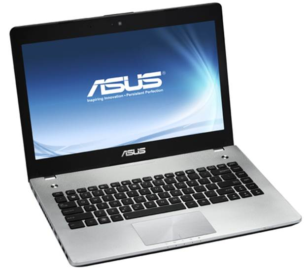 ASUS N46VZ screen